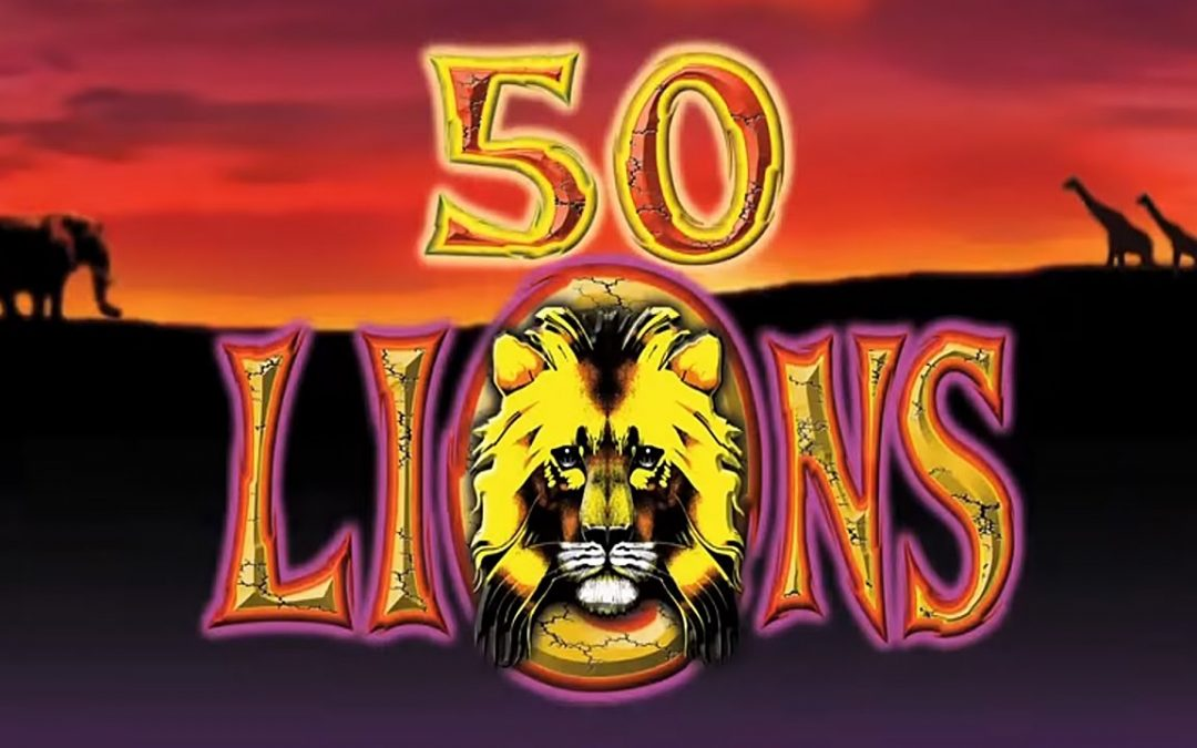 Listen The Roaring Sound Of 50 Lions Reels